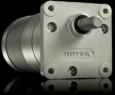 ROTEK Spur geared motors